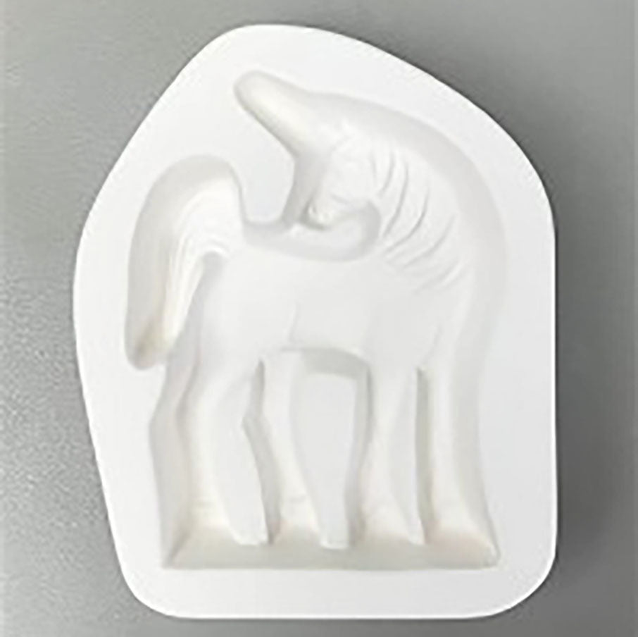 Unicorn Stand-Up Casting Mold