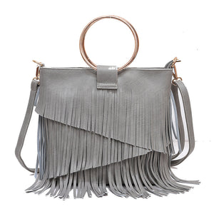 Valaxa Grey Handbag