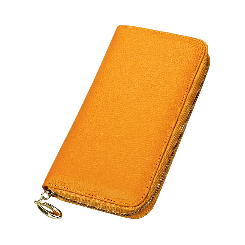 Capri Mustard Leather Wallet