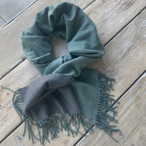 Beauabea - Mint /Grey Scarf