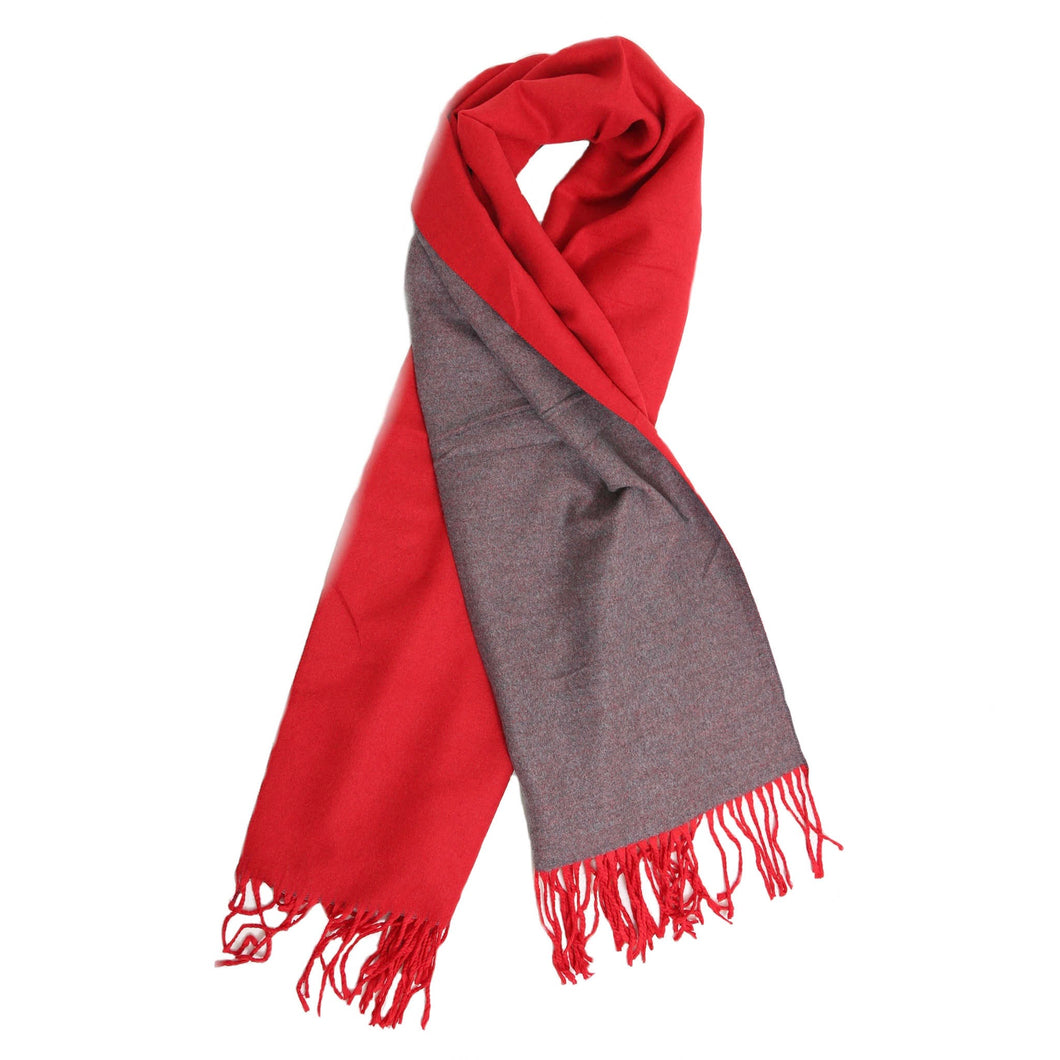 Beauabea - Red /Grey Scarf