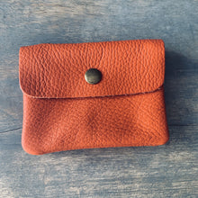 Load image into Gallery viewer, Naxos Papaya Leather Coin Purse