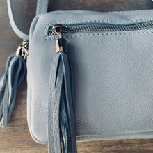 Load image into Gallery viewer, Valencia - Light Blue Crossbody Bag