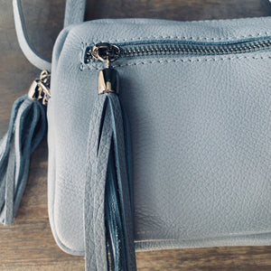 Valencia - Light Blue Crossbody Bag