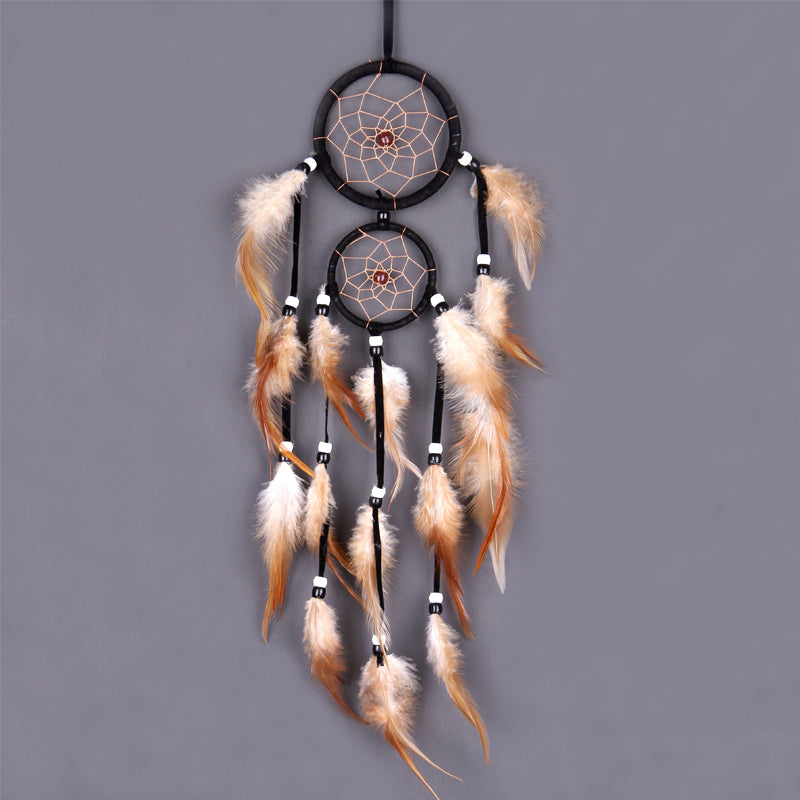 Retro Feather Dream Catcher - SpiritifyMe