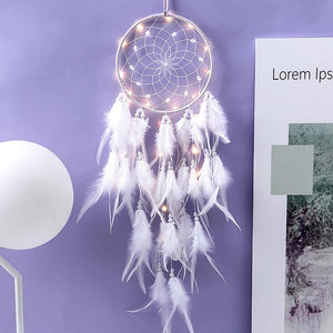 Dream Catcher With Lights - SpiritifyMe