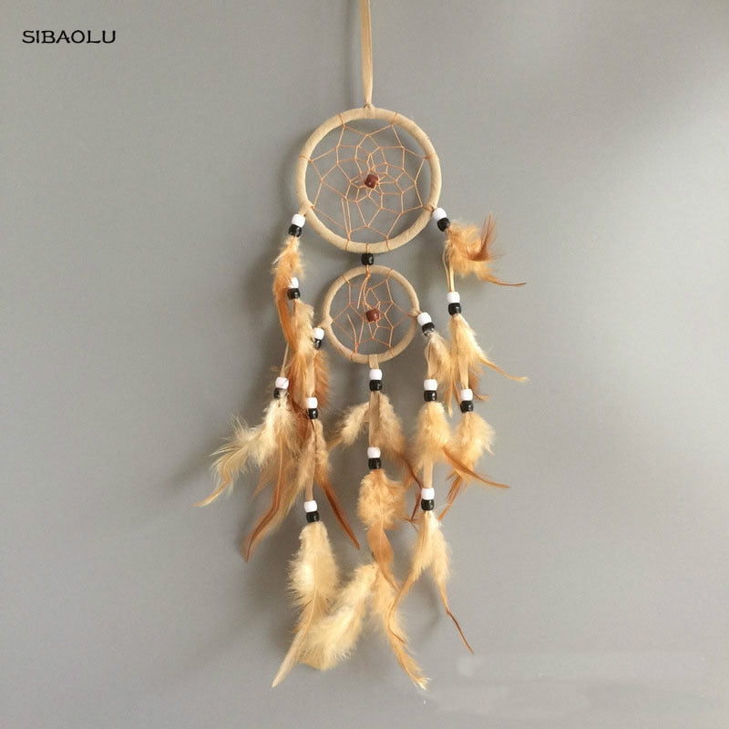 Vintage Feather Dream Catcher - SpiritifyMe