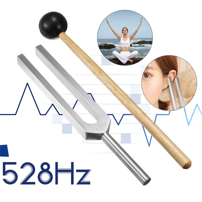 528HZ Aluminum Alloy Tuning Fork - SpiritifyMe