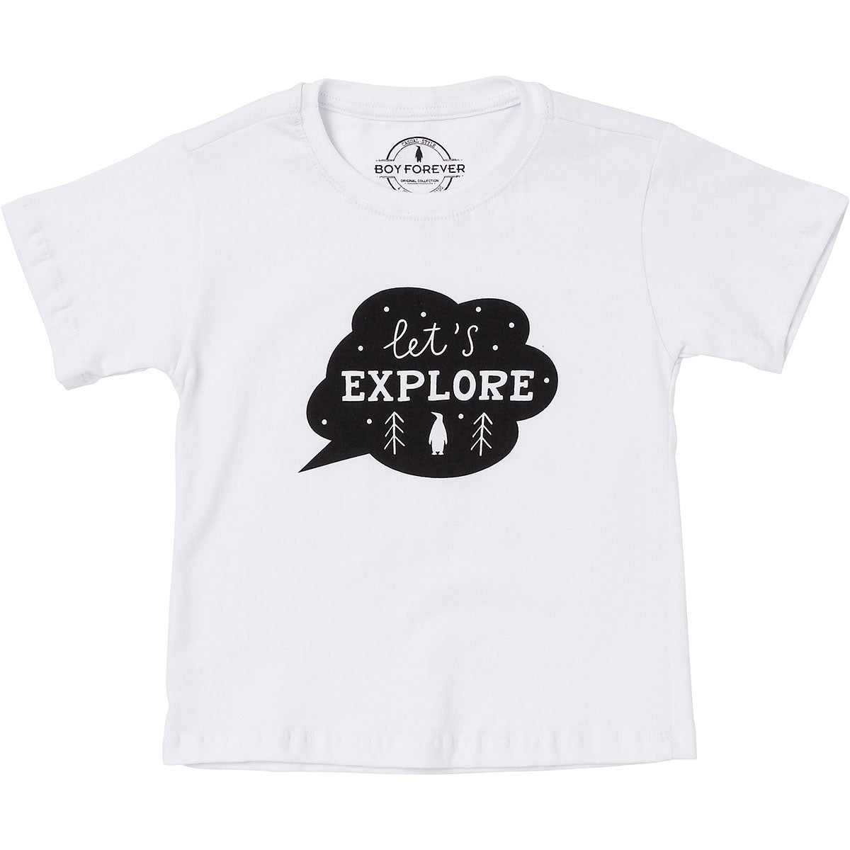 Camiseta silk Let's explorer