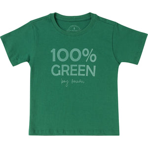 Camiseta silk 100% Green
