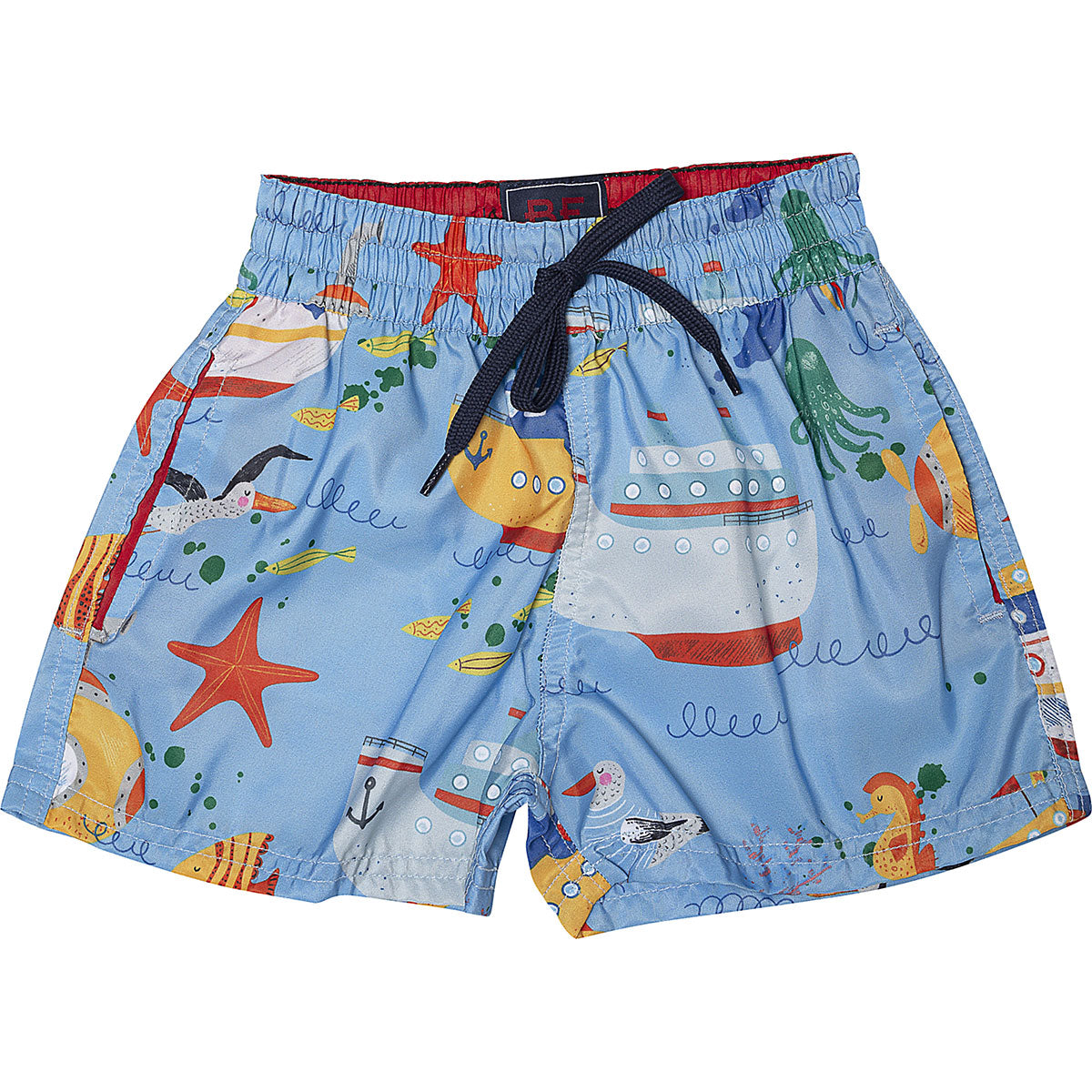 Shorts fundo do mar