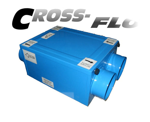 Model: CFLO100 (Small Heat Recovery Unit)