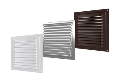 Model: SW-FLG (Flat Metal Fixed Grille)