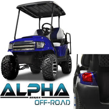 Load image into Gallery viewer, Club Car Precedent ALPHA Off-Road Body Kit in Blue (Fits 2004-Up)