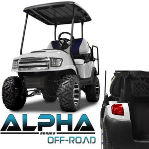 Club Car Precedent ALPHA Off-Road Body Kit in White (Fits 2004-Up)