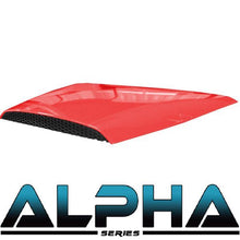 Load image into Gallery viewer, Alpha Series Hood Scoop for Precedent (Red, Black, Blue, White)