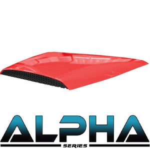 Alpha Series Hood Scoop for Precedent (Red, Black, Blue, White)