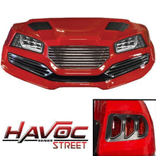 Load image into Gallery viewer, Red Havoc Body Kit w/ Street Style Fascia & Light Kit for 2007-2016 Yamaha G29/Drive