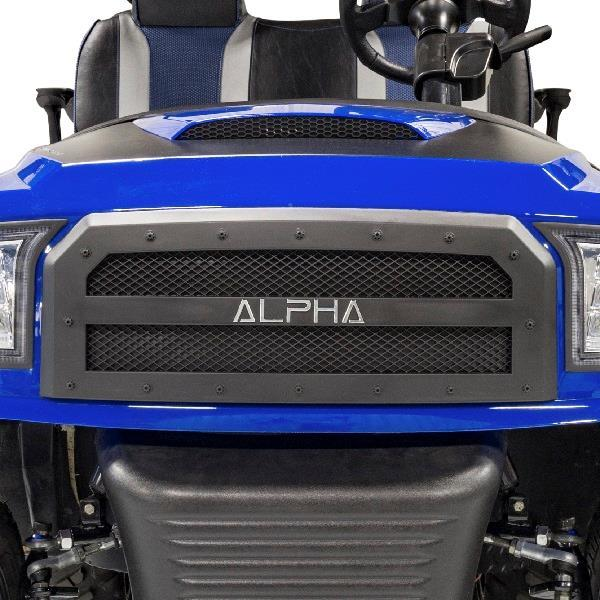 Alpha Series Black Off-Road Grill for Precedent