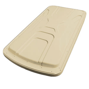 "84"" Versa Triple Track Top (Beige) + Brackets for Yamaha G29/Drive"
