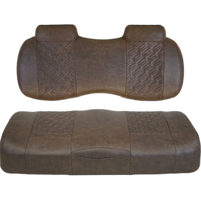 Madjax Executive Front Seats for Club Car Precedent/Onward/Tempo (Tobacco)