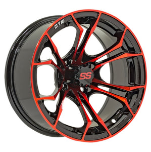 "14"" GTW Spyder Wheels & 23"" Nomad All-Terrain Tires (Not Mounted)"