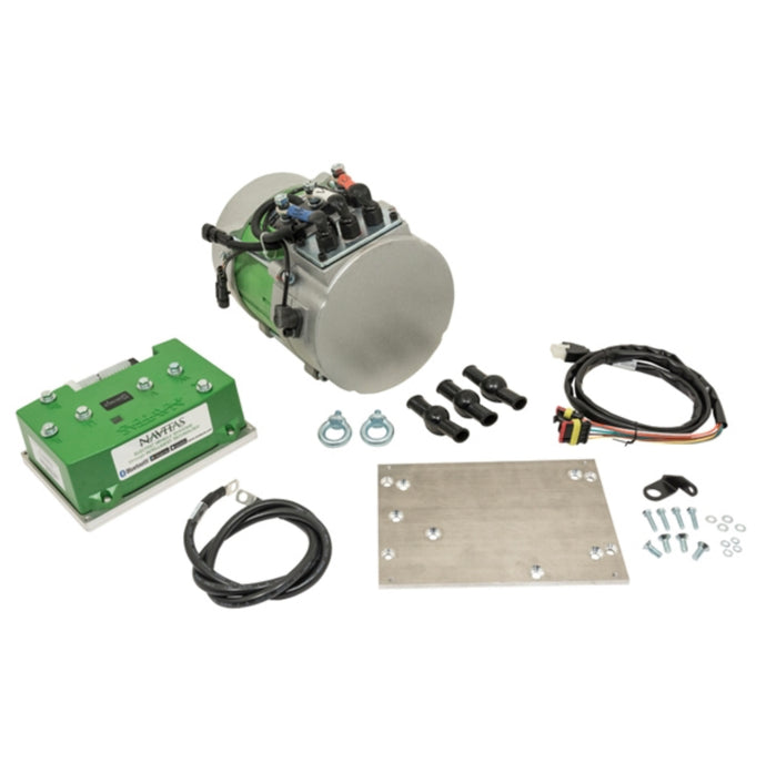 DC to AC Conversion Kit for E-Z-GO Shuttle, S6, L6, S4 H.O. 48v Models - Navitas 600A 5KW