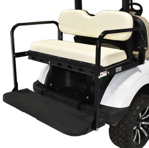 GTW MACH3 (Genesis 150) Rear Flip Seat for Club Car DS - White