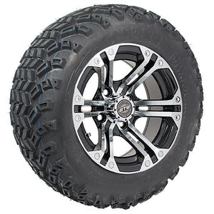 12-Inch GTW Specter Wheels on All-Terrain Tires (Lift Required) - Set of 4