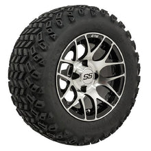 Load image into Gallery viewer, 12-Inch GTW Pursuit Wheels on All-Terrain Tires - Set of 4
