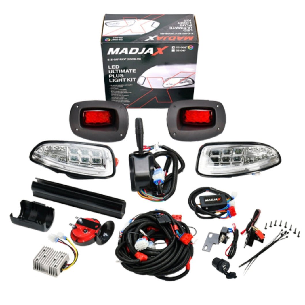 E-Z-GO RXV MadJax RGB Ultimate Plus Golf Cart Light Kit (2008-2015)