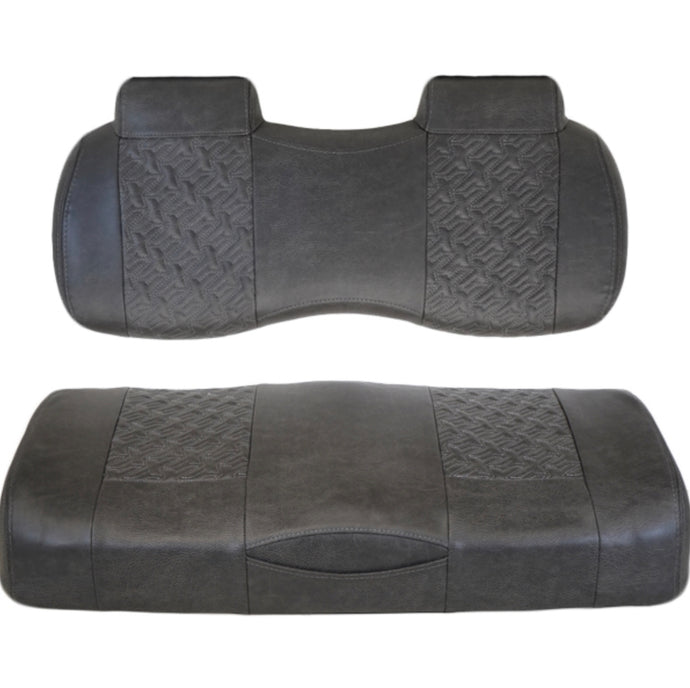 Madjax Executive Front Seats for Club Car Precedent/Onward/Tempo (Charcoal)