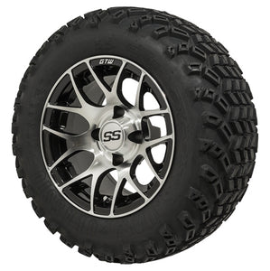 12-Inch GTW Pursuit Wheels on All-Terrain Tires - Set of 4