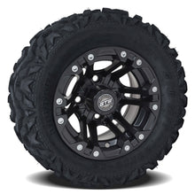 Load image into Gallery viewer, 10-Inch GTW Specter Matte Black Wheels on Barrage Mud Tires (Set of 4)