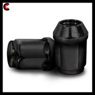 16-Pack 1/2-inch x 20 Lug Nuts for Club Car and EZGO - Black