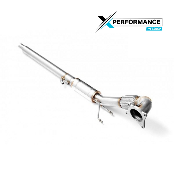 Downpipe DECAT VW GOLF VI R 2.0 TSI + MUFFLER
