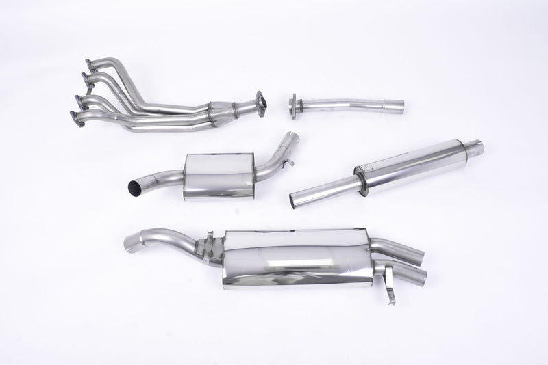 Golf Mk2 GTI 8v Complete Resonated Exhaust System