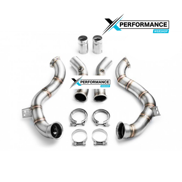 Downpipe DECAT MERCEDES W205 C63 AMG 4.0i V8 Bi-Turbo