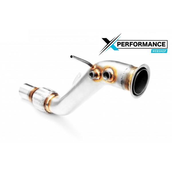 Downpipe DECAT BMW X1 E84 18d 20d N47