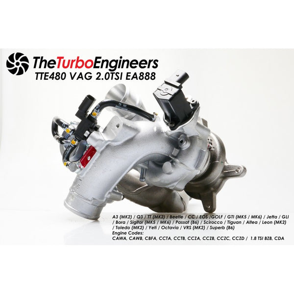 TTE480+ TSI Upgrade Turbocharger
