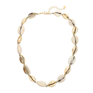 Summer paradise necklace gold