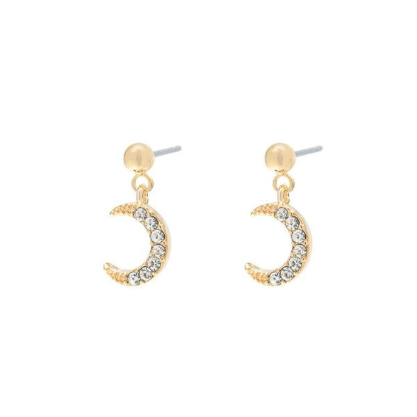 Moonlight earrings gold I