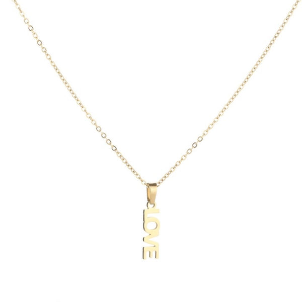 Sweet love necklace gold