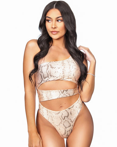 LA Sisters cut out swimsuit snake
