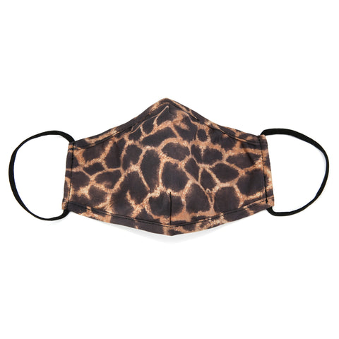 Face mask animal brown