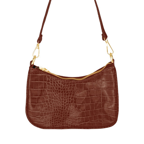 Trendy bag brown