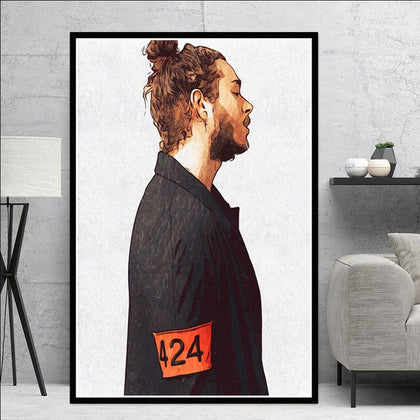 424 Poster Post Malone