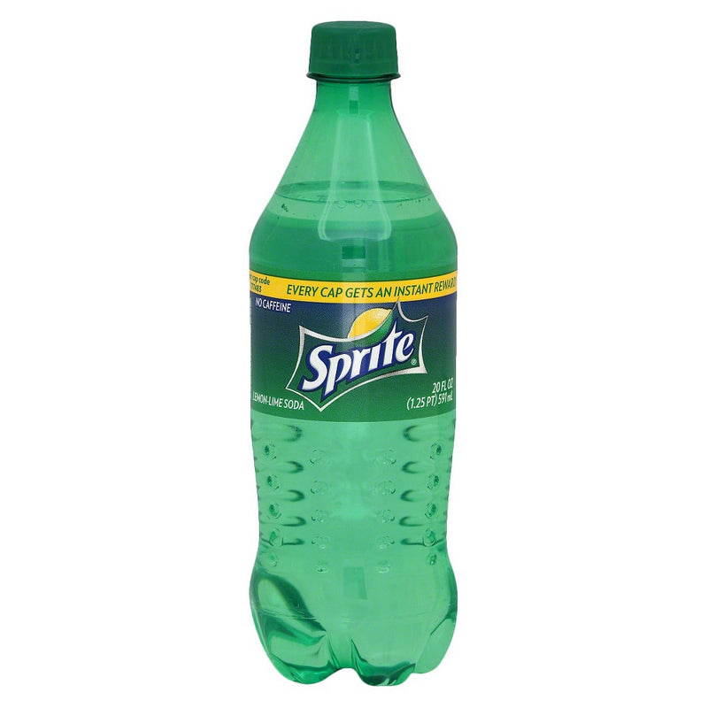 雪碧 柠檬味 591ml Sprite Lemon Lime Soda 19.8fl.oz