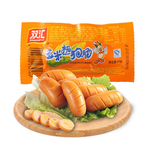 双汇 玉米热狗肠 SHUANGHUI corn hot dog sausage