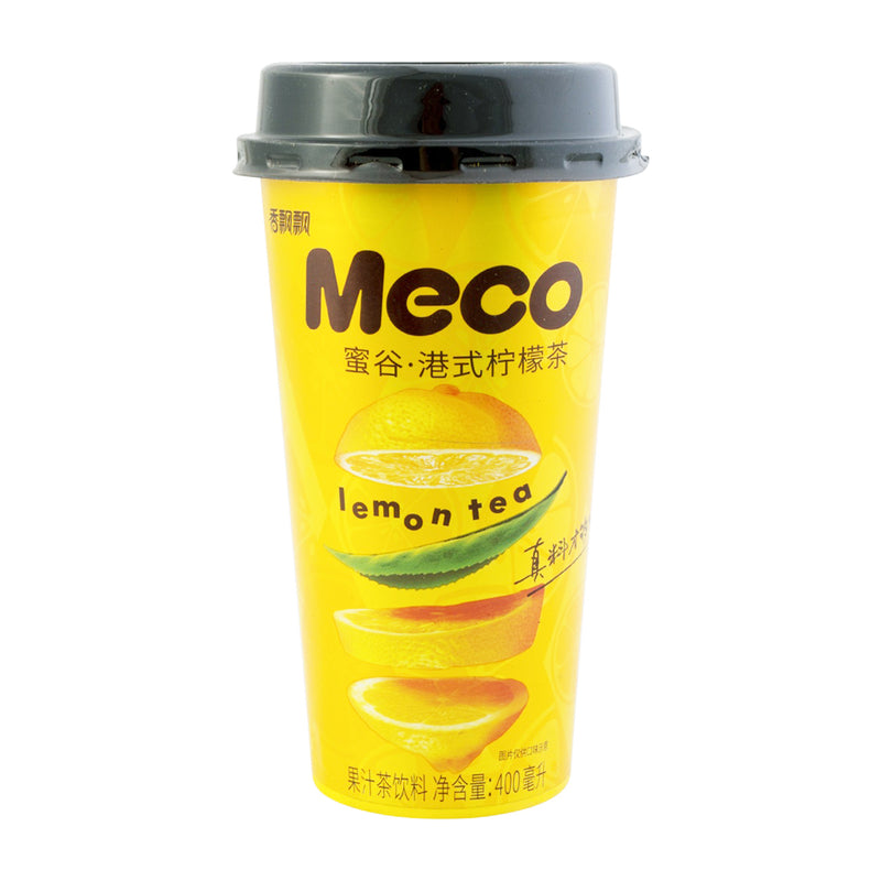 香飘飘 蜜谷 港式柠檬茶 400ml XIANG PIAO PIAO Meco - Hong Kong Style Lemon Tea 13.52fl.oz
